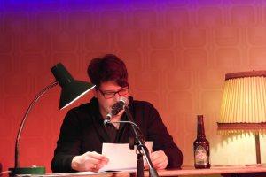 Marc Degens im Literaturklub, Köln